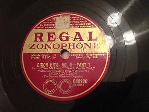 REGINALD-DIXON-Organ-034-Dixon-Hits-No-9-034-78rpm-10-034-1939-EXC
