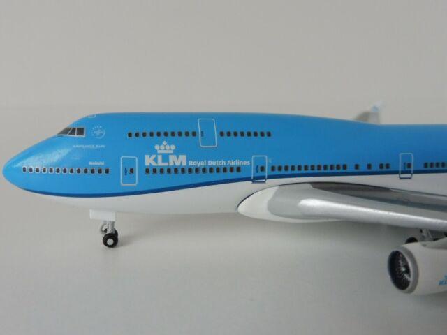 Herpa Wings 1:500 boeing 747-400 klm nairobi 529921