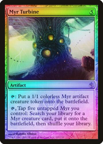 Myr Turbine FOIL Mirrodin Besieged NM Artifact Rare MAGIC MTG CARD ABUGames