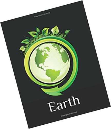 Earth Earth Day Gift Notebook Blank Lined Journal Book