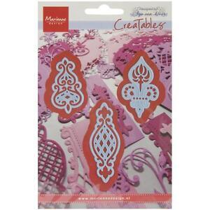 Marianne-Design-Creatables-Dies-Anja-039-s-3-Vintage-Ornaments-LR0273-Up-to-2-5-034