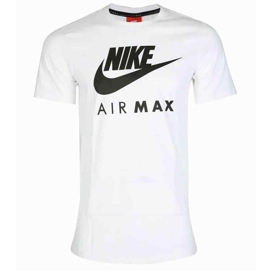 Nike Air Max Logo T-Shirt for Men White