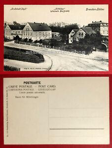 AK-ALT-DRESDEN-Loebtau-um-1906-Strassenpartie-ehemals-Dorfplatz-67657