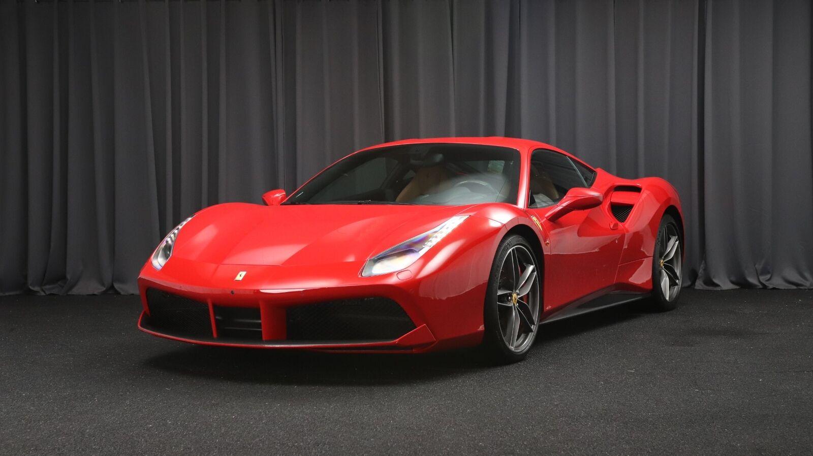 Ferrari 488 GTB 3,9 DCT 2d - 1.250.000 kr.