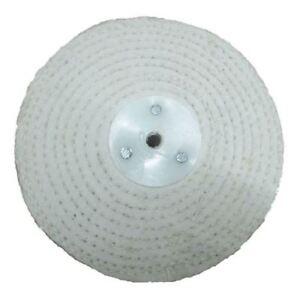 """Jewellery Polishing White Stitch 8/"""" x 1/"""" Buffing Wheel Mop Pro-Max"""