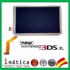 PANTALLA LCD NINTENDO NEW 3DS XL SUPERIOR UPPER 3 DS LL FLEX IMAGEN ARRIBA N3DS