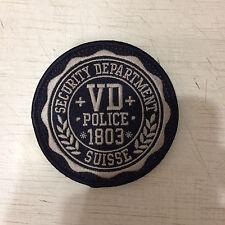 Swiss Patch Police Cantonale Vaudoise Polizei Switzerland Original Super Rarity