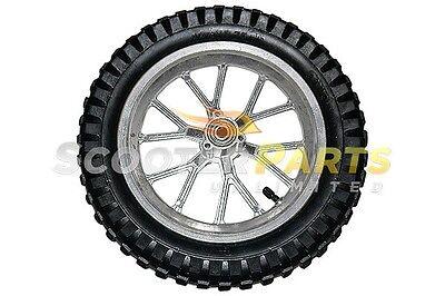 Tire Rear Wheel Mini Pocket Dirt Bike 47cc 49cc 50cc COOLSTER QG-50 RX1 Traxxis