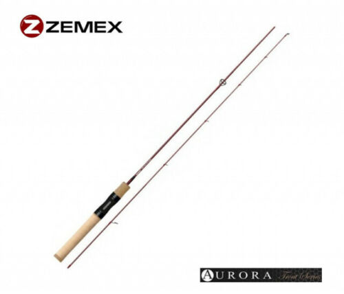 ZEMEX AURORA 622UL 0,3-5g Ultra-Light Spinnrute Favorite Arena Spoon