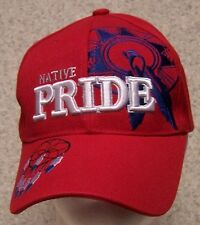 Embroidered Baseball Cap Native American Pride Dreamcatcher NEW 1 size red
