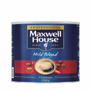 Details About Maxwell House Coffee Powder 750g Tin 64997 No Need To Roast Or Grind Ks79319