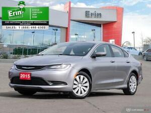 2015 Chrysler 200 4dr Sdn LX FWD