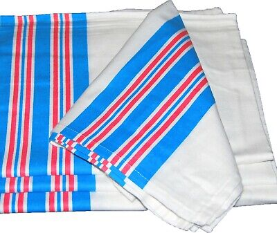 """24 new baby infant receiving swaddling hospital blankets large 30/""""x40/"""" striped"""