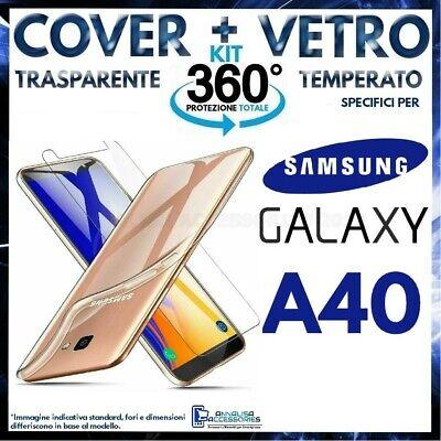 cover samsung a40 trasparente