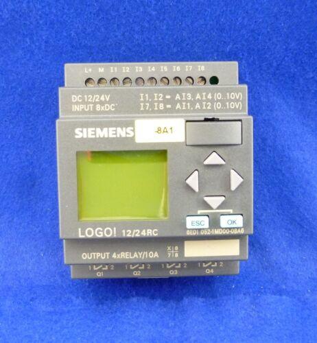 Siemens LOGO 12//24 RC 6ed1 052-1md00-0ba6 6ed1052-1md00-0ba6