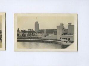 1933-Chicago-World-039-s-Fair-Century-of-Progress-Hall-of-Science-Vtg-B-amp-W-Photo