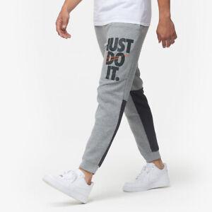 Nike Just Do It Pants Grey Logo Size 2xtra Largexxl Bottoms Logo Swoosh Jdi Ebay