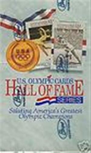 OLYMPIC CARDS HALL OF FAME SERIES BOX 1991 UNITED STATES U.S