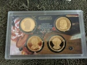 Mint Presidential 1$ Dollar Coin Proof Set Complete With Box /& COA 2008 U.S