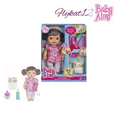 Baby Alive Brushy Brushy Interactive Baby Doll African American