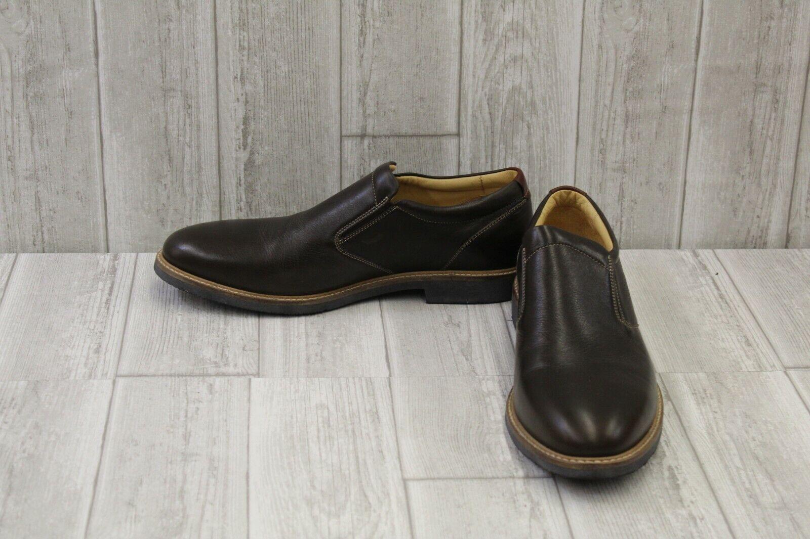 Johnston & Murphy Barlow Venetian Slip-On Loafer - Men's Size 11M, Brown