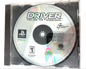 Driver SONY PLAYSTATION 1 PS1 Game Tested + Working ++ DISC ONLY
