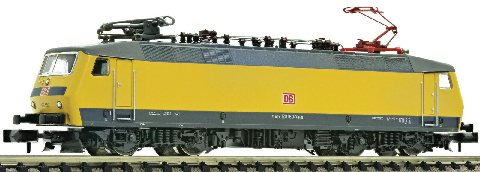 Fleischmann N 735303 Electric Locomotive Br 120 160-7 Db Ag - New +Box