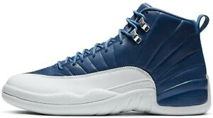 Air-Jordan-12-Indigo-Retro-Stone-Blue-White-Obsidian-130690-404