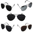 Top Gun Aviator Sunglasses Unisex Mirrored Wayfarer UV400 Shades Mens Ladies