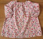 Petit Bateau*** Ravissante Robe /Dress 12 mois/74 cm motifs Liberty Rose
