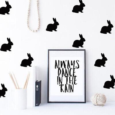 Vinyl Decal Sticker Hare Bunny Rabbit ebn2847 Multiple Patterns /& Sizes