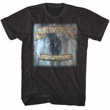 Bon Jovi Keep The Faith 93 USA Tour Dates 2 Sided Adult T Shirt Rock Music
