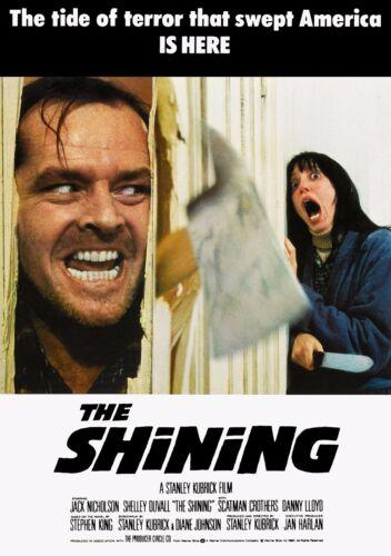 The Shining 1980 Retro Movie Poster A0-A1-A2-A3-A4-A5-A6-MAXI 602