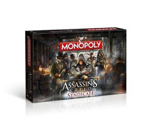 Monopoly-Assassin-039-s-Creed-Syndicate-Spiel-Brettspiel-Gesellschaftsspiel-Deutsch