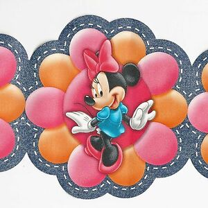 disney 39 s minnie mouse funky modern flowers only 6