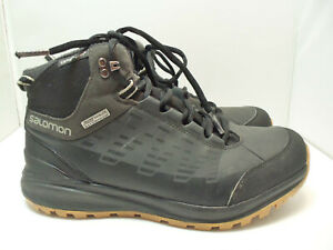 Details about Mens Salomon Kaipo CS WP waterproof winter snow boots size 10