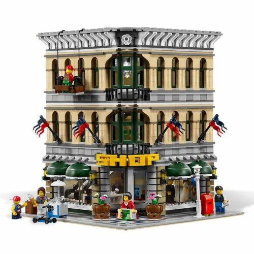 2232Pcs City Street View Grand Emporium Model Building Blocks Bricks Compatible
