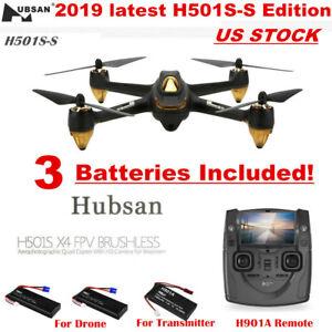 Hubsan H501S X4 Quadcopter 5.8G FPV Brushless 1080P Follow Me...