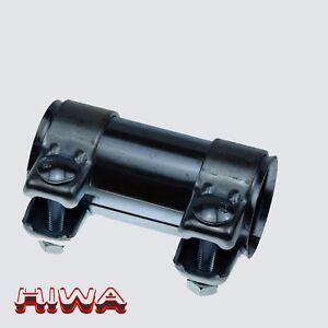 Auspuffschelle-55-59-5-x-125-mm-Rohrverbinder-Verbindungsrohr-Doppelschelle