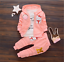 3pcs Toddler Infant Girls Cartoon Outfits Hooded Coat+T-shirt+Pants Cotton Sets