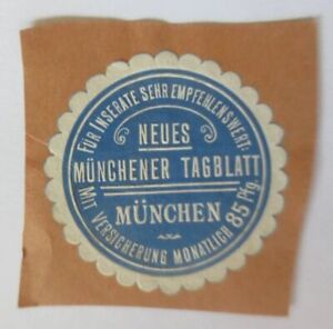 Vignette New Munich Tagblatt With Insurance Monthly