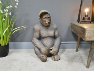 40cm D Gavin The Gorilla SN:6560 Made from MGO.H 58cm W 6.50kgs 34cm  Weight