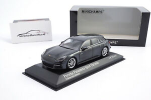 410066112-Minichamps-Porsche-Panamera-4E-Hybrid-Sport-Turismo-Grau-2017-1-43