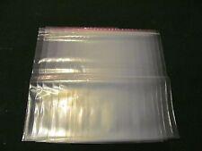 """13"""" x 18"""" 10 Clear premium Zipper Bag  Reclosable Storage  Large 4 mil bags"""