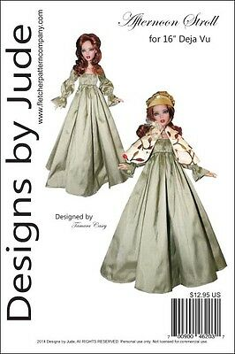 "Bewitching Lingerie Doll Clothes Sewing Pattern for 16/"" Deja Vu Tonner"