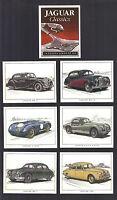 CIGARETTE/TRADE/CARDS.Golden Era Motor Cars.JAGUAR CLASSIC 4th.(2003).(Set of 6)