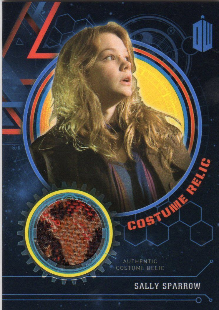 Doctor Who Topps Extraterrestrial Encounters bluee Sally costume card 53 99