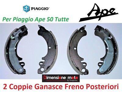 0221 - Kit Ganasce Freno Rms Posteriori Per Piaggio Ape 50 Fl3 Europa Dal 1996 > Domanda Che Supera L'Offerta