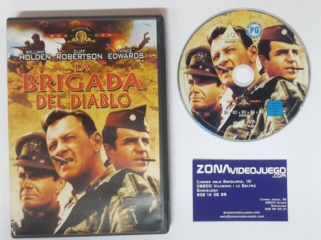 La brigada del diablo. Película Dvd. William Holden, Cliff Robertson.