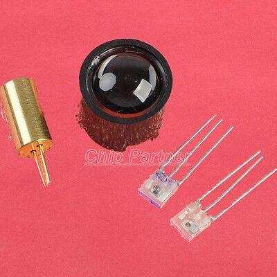 Laser Head/Modulation Tube/Reciver Tube/Lens for Freescale Smart car